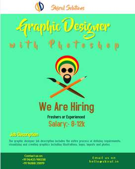 Require Web Designer with Photoshop
