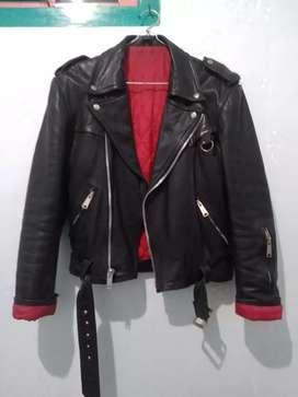 Jacket Kulit Import Mirip Petroff