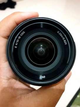 Lensa Sony APSC Sel 10-18mm F4 OSS
