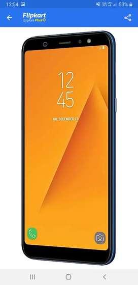 Samsung Galaxy a6plus 4GB rem 64GB rom fast charging