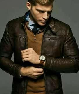 Jaket asli kulit domba garut