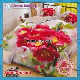 Bedcover Orchard Siap Kirim Hingga Tanah Datar