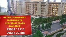 Gated community apartment flats available At patancheruvu