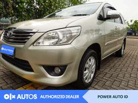 [OLX Autos] Toyota Kijang Innova 2013 G 2.0 L Bensin AT #Power Auto ID