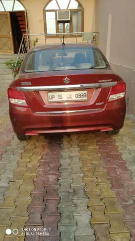 Good looking dzire gallent red colour zdi plus