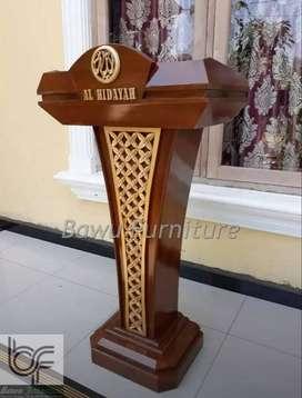 Mimbar Presiden Podium Mimbar Minimalis 218