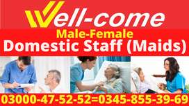 WELL-COME Domestic Staff (Maids/Babysitters & Helpers)