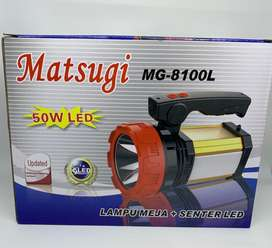 Senter Emergency LED Matsugi MG - 8100 L