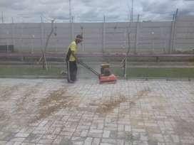 Upah Tukang Pasang Paving per m2 bata press tukang borongan banjarbaru