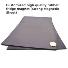 Rubber Magnet Sheets Available (Thickness 1 mm, high-quality)