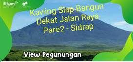 Jual Kavling Siap Bangun dkat Jalan Raya Pare2-Sidrap View Pegunungan