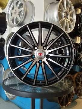 velg racing model vossen ring17x7.5 pcd5x114.3 camry accord new