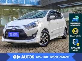 [OLXAutos] Toyota Agya 1.2 G TRD S A/T 2018 Putih