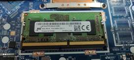 4 GB Memory Laptop SODIMM DDR4 - 2666 Mhz