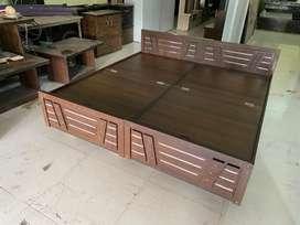 New 6x6 Double Bed जोड़ - मज़बूत 5 साल वारन्टी