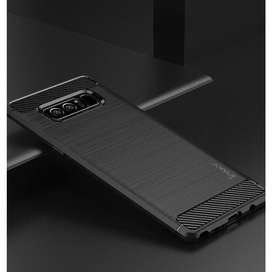 Case Softcase Hardcase Ipaky Carbon Fiber Samsung Note 8 / S8