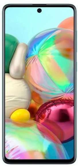 Galaxy A71 with 8GBRAM & 128GBROM