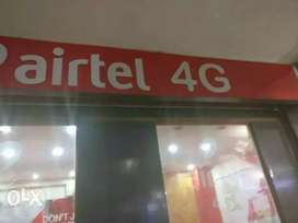 To sell the franchise of airtel With complete set