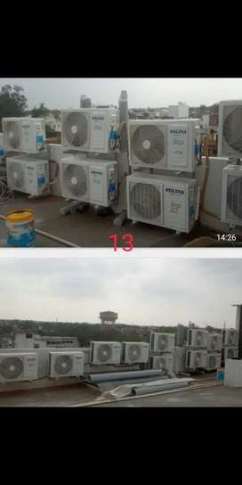 Ac service all types with high pressure pump and repair