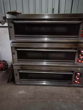 Bakery deck Oven and spiral mixer
