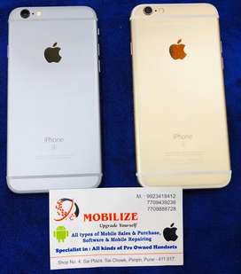 iPhone 6S Gray & Gold 64GB In Good Condition.
