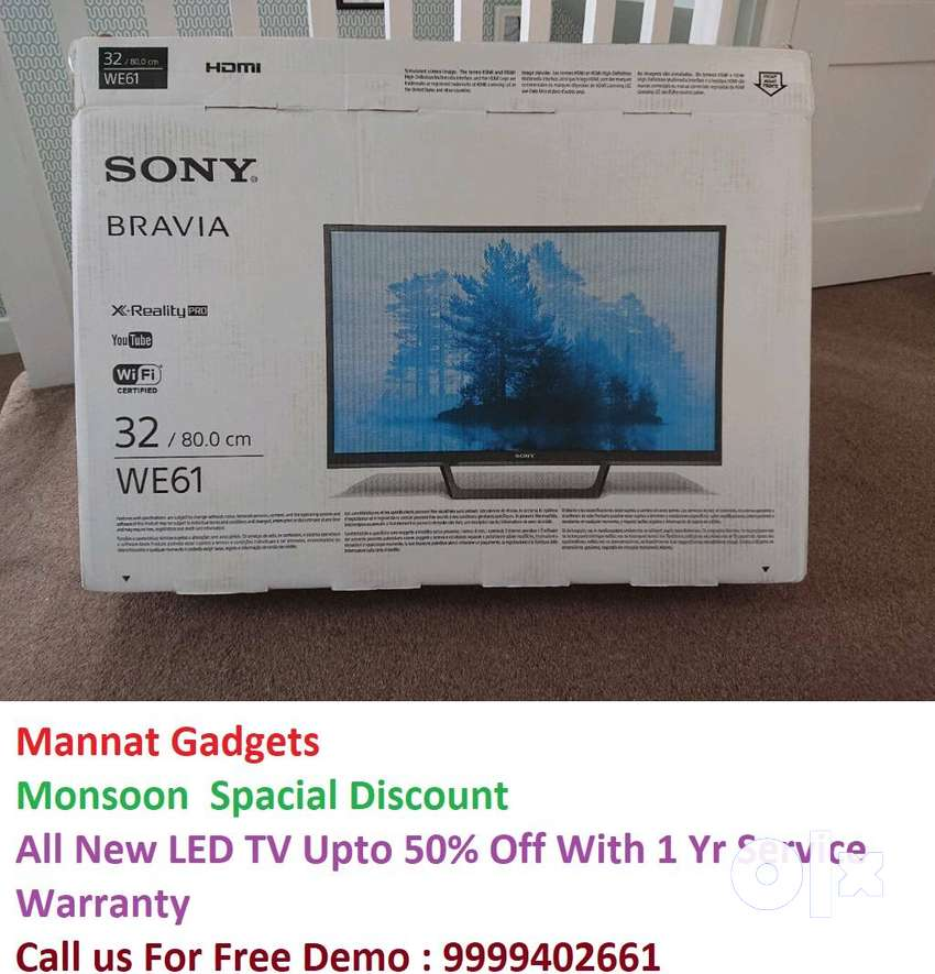 "New 32"" Full Smart Android NEW Model LED Tv With Wty 0"