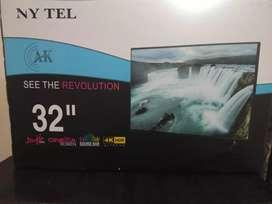 Nytel 32inch Full Hd 4k Smart TvLed Tv Full Hd 4k