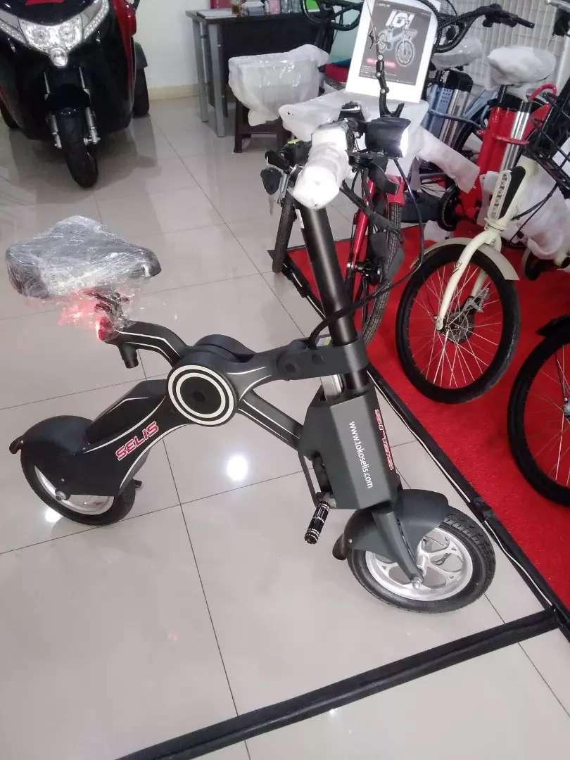 Sepeda listrik merk selis 0