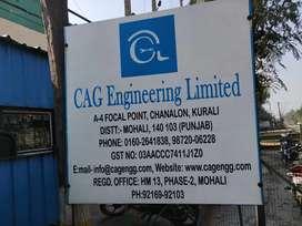 Trainee CNC operator