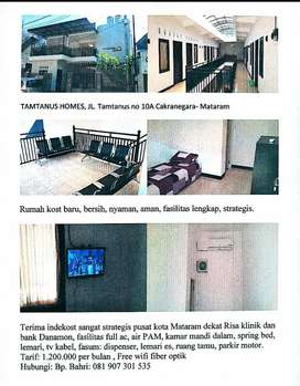 Tamtanus Homes indekos Mataram