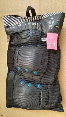3-Pcs Protection Set for skating, skateboarding and scootering safely.