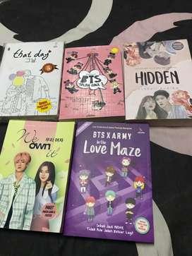 """Novel kpop,masih baru blm dapat d baca """""""
