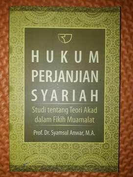 Hukum Perjanjian Syariah (studi tentang teori akad dlm fikih muamalat)