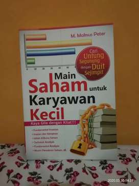 Buku Main Saham untuk Karyawan Kecil