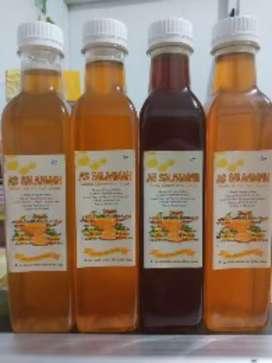 Asli madu raw Honey Madu mentah tanpa proses pabrik alami herbal