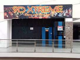 9d cinema and Mirror maze in running condition in GNG MALL, Saharanpur