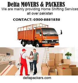 movers & packers all over pakistan/Home shifting