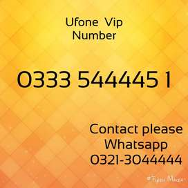 Ufone all Golden numbers 786