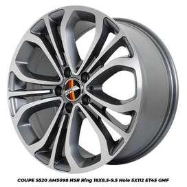 Jual Velg Racing HSR Coupe Ring 18 Untuk Mobil Mercy