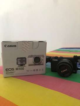 Canon m100 mulus komplit