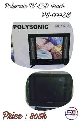POLYSONIC TV LED 17 INCH Type PS-1777SB