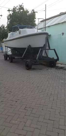 Kapal skoci bekas tapi mesin dan body mulus seperti baru