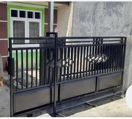 PINTU gerbang minimalis modern pk 05