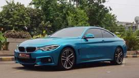 BMW F32 440i Coupe M Sport Facelift 2017 Blue Km Low!!!