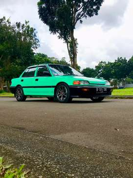Honda Civic LX AT 1988 no convert asli
