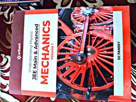 Physics JEE main and advanced Arihant 2020 full set new condition.