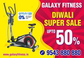 ELLIPTICAL CROSS TRAINER WITH SEAT DIWALI UP TO 50% OFFER PRICE