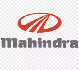 Mahindra company required for candidate