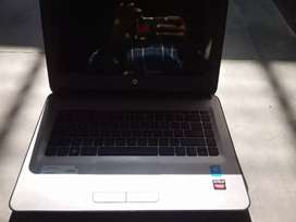 HP laptop and DVD player