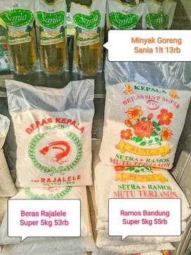 Jual beras murah dan minyak goreng murah